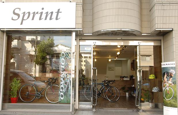 横浜のロードバイク専門店スプリント-外観